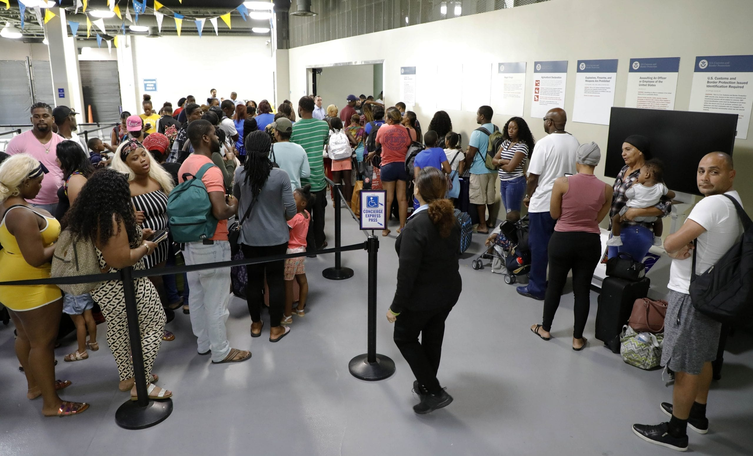 No Visa? No Entry for Bahamian Storm Evacuees
