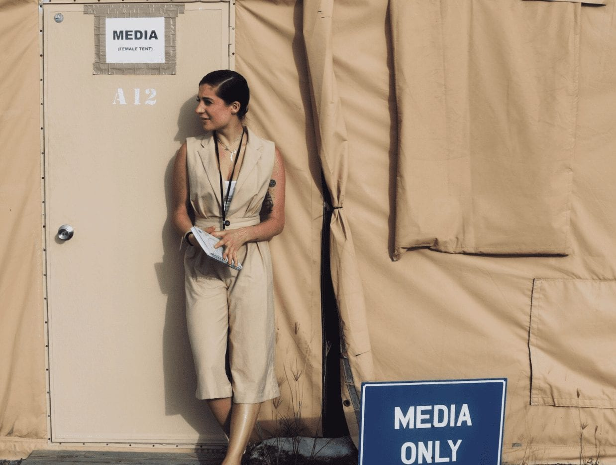 Case Study: Journalist Leila Barghouty Finds a Taste of Jamaica at Guantanamo Bay