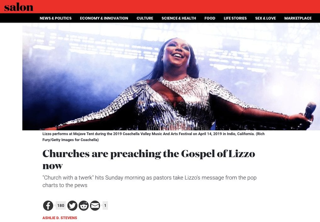 Case Study: Reporting from the Church of Lizzo