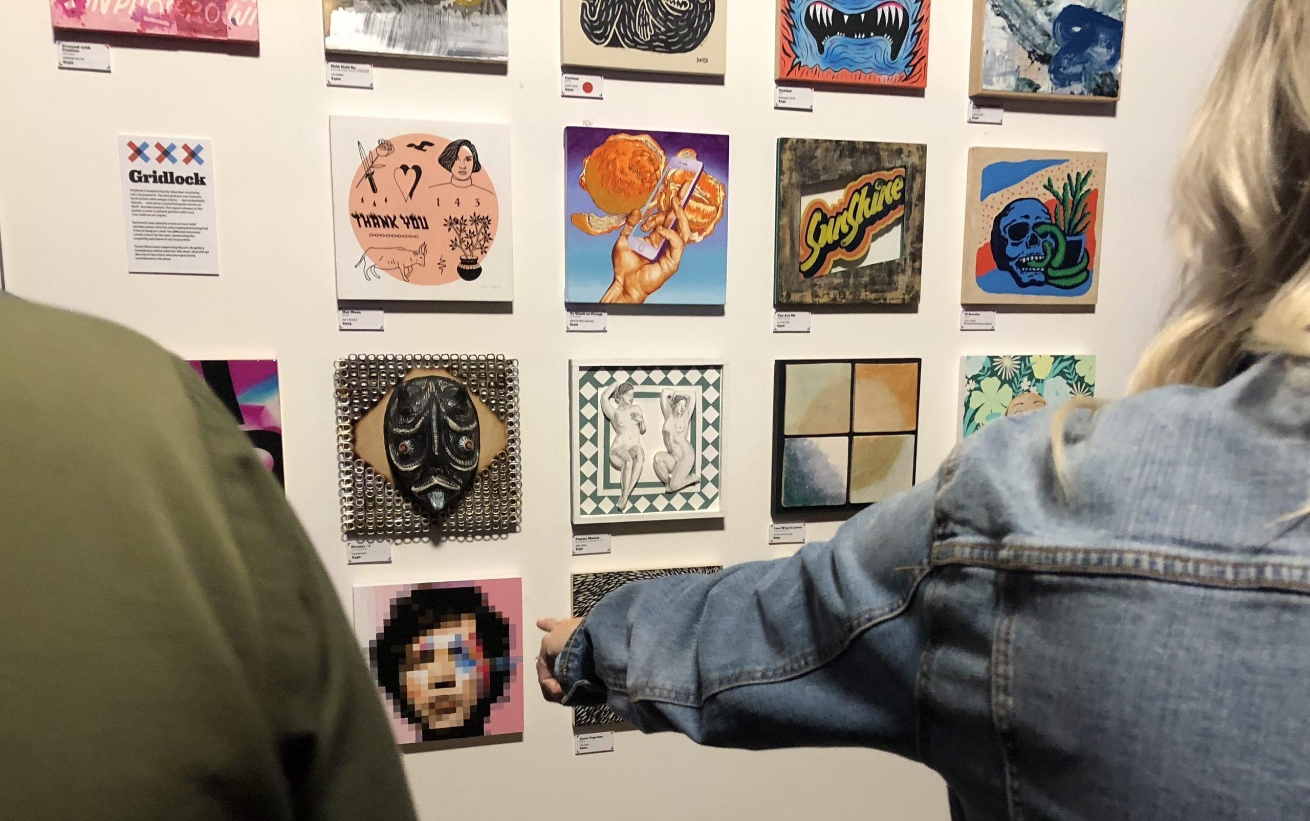 Gridlock Art Show Celebrates Art — Without Limitations