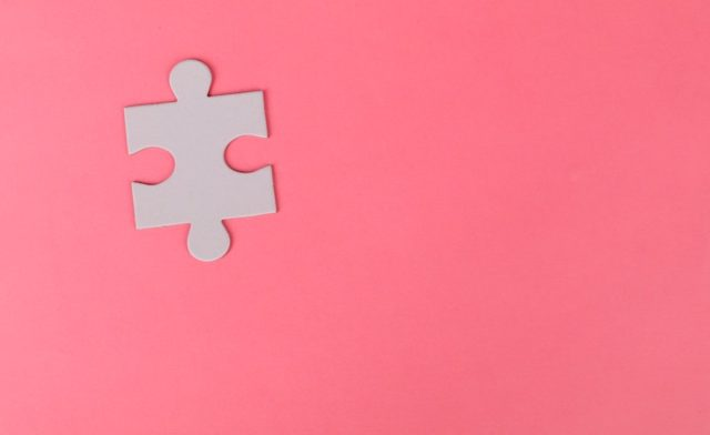 Photo of a puzzle piece