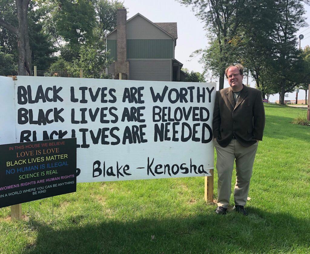 Illinois Church Stands By  Black Lives Matter Despite Vandalism