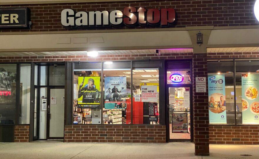 GameStop Store Front