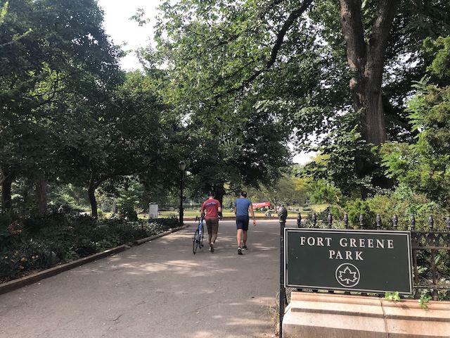 An Afternoon in Brooklyn's Fort Greene Park