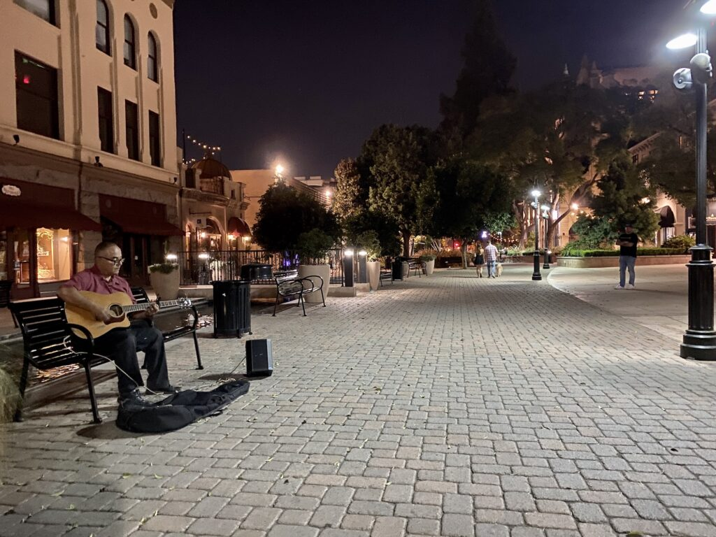 Downtown California Hubs Are Bustling on One Corner, Desolate on the Next