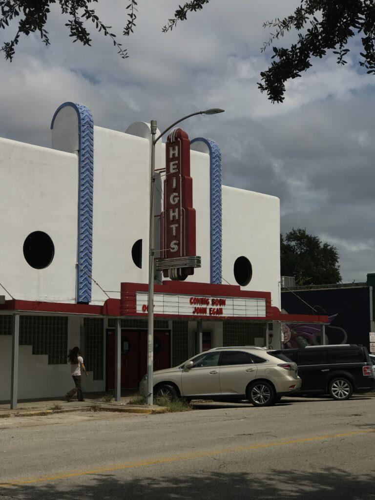 Heights Theater in Houston, Texas