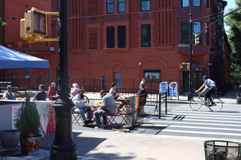 Uneasiness Coated in Sunshine: An Afternoon on One Brooklyn Street