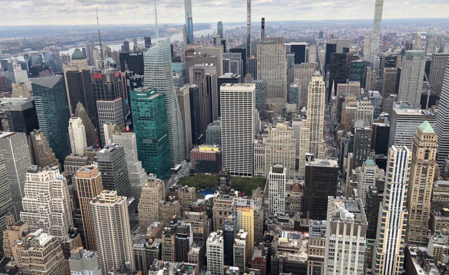 Manhattan skyline NYC