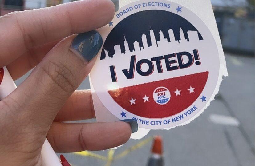 New York City Vote Sticker