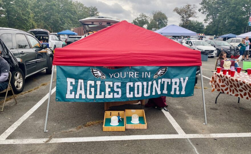 Philadelphia Eagles Tailgate in COVID-19