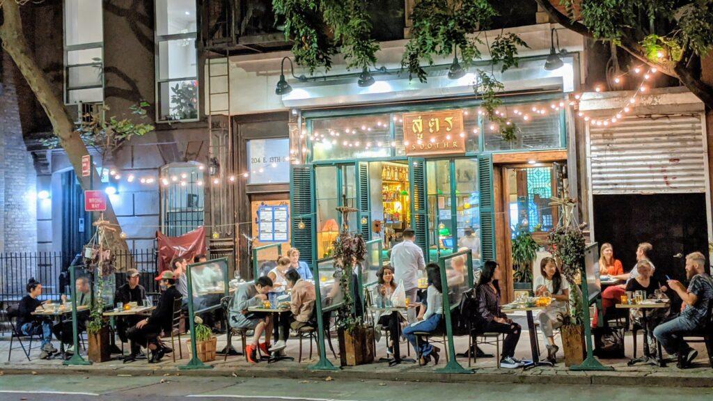 Soothr restaurant, Oct 21, 2020