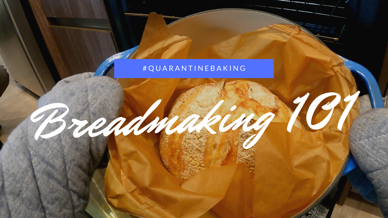 A simple sourdough-like bread with only five ingredients--flour, water, yeast, salt, and cornmeal. Photo: Lilian Manansala