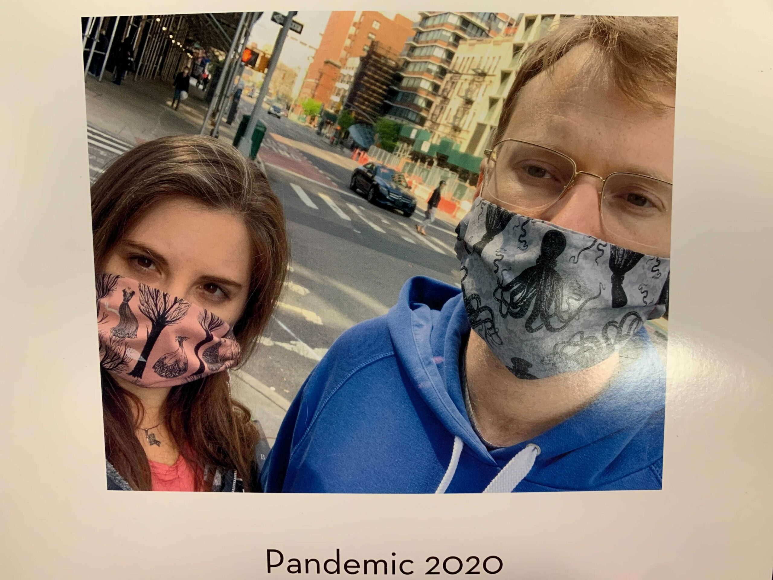 Nikki Main and her fiancé Nicholas on an album of photos in which Main documented their pandemic experience over the last year. [Photo courtesy of Nikki Main]