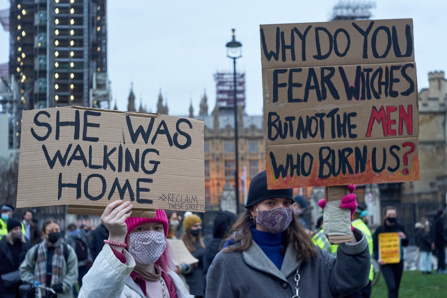 Sarah Everard protest march