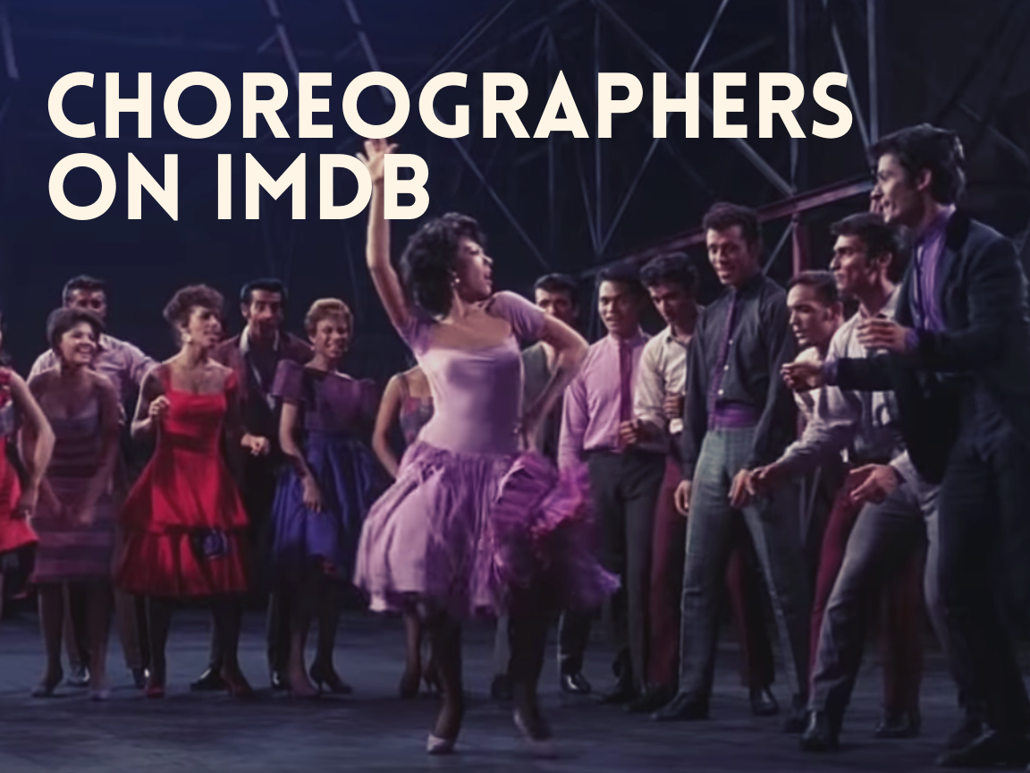 IMDB gives choreographers for films like West Side Story a general credit, Other or Miscellaneous. (United Artists)