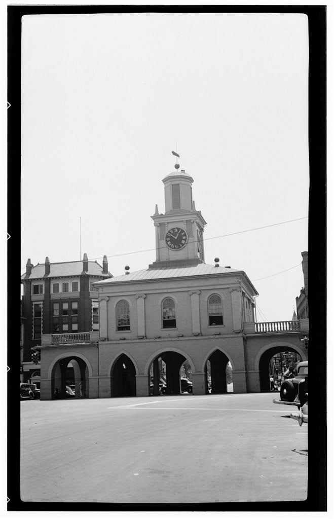 Fayetteville Market House (photograph obtained in 1933)