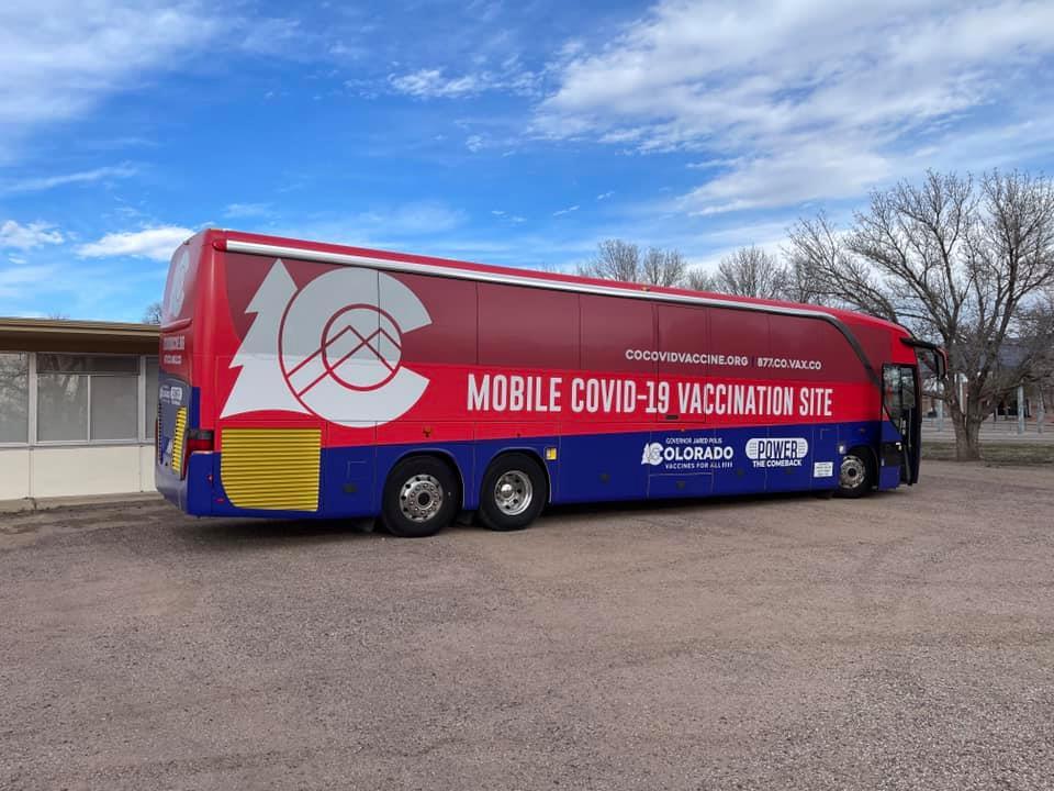 A Colorado mobile vaccination bus