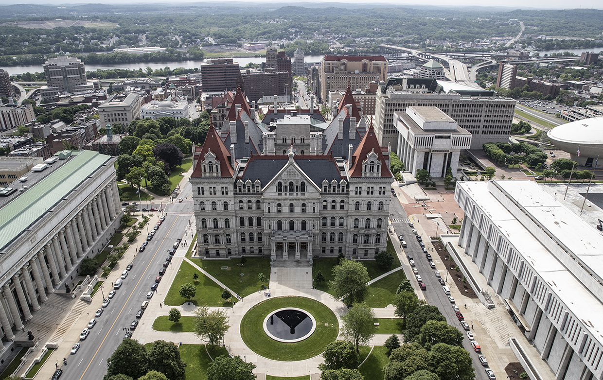 NYS government capitol building